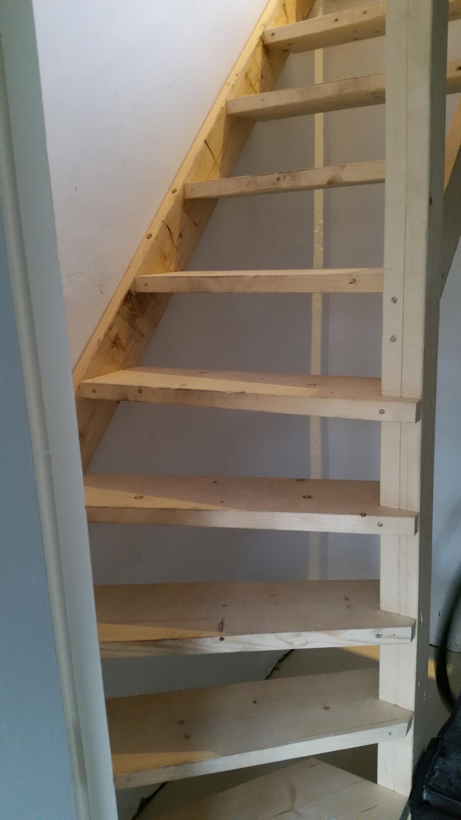 Zolder na isoleren for Van vlizo naar vaste trap